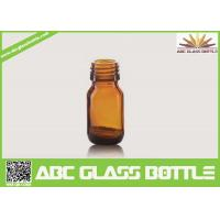 Buy cheap Wholesale 20ml Amber Glass Bottle For Liquid Medicine from wholesalers