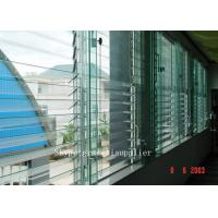 Buy cheap rough grinding edge or polished edge Plate glass window / louver glass from wholesalers