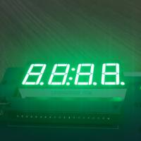 Buy cheap Pure Green 4 Digit 7 Segment Led clock Display 0.56 Inch  common anode For Instrument Panel from wholesalers