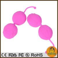 Buy cheap Real Skin Softy Silicone Balls, Ben Wa Balls, Vaginal Tight Exercise Machine Vibrators from wholesalers