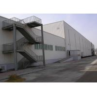 Buy cheap prefabricated light building 2 floor steel structure office warehouse from wholesalers