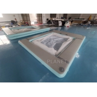 Buy cheap Double Wall Fabric Sea 0.9mm PVC Inflatable Yacht Pool from wholesalers