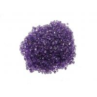 Buy cheap Genuine African Amethyst Natural Loose Gemstones Normal Faceted 1.5mm from wholesalers