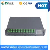 Buy cheap 16ports muti ports optical amplifier with WDM , WDM EDFA FOR PON from wholesalers
