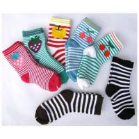 Buy cheap Sweat-absorbent Cute Colorful 12 - 15 cm Pure Cotton Ankle Terry Loop Socks For Children 1- 4 Years from wholesalers