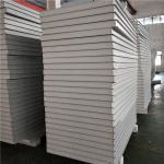 Buy cheap concrete ground floor 100mm  waterproof eps sandwich panels wall boards from wholesalers