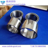 Buy cheap Customized tungsten carbide bushing round bushing for oil seals from wholesalers