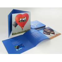 Buy cheap Promotion Gift Invitation LCD Video Greeting Card,Greeting Video Card from wholesalers