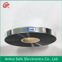 Buy cheap 3~12um Al Zn metallized polypeopylene double sided  film for capacitor use from wholesalers