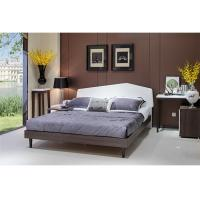 Buy cheap Home Modern King Size Bedroom Sets , High Gloss Modern Wood Bedroom Furniture from wholesalers