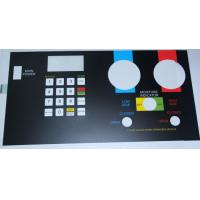 Buy cheap Custom PC Silicone Rubber Membrane Switch Keypad Touch Panel Sticker from wholesalers
