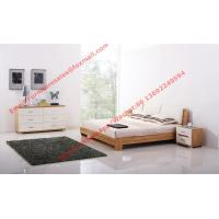Buy cheap Fabric upholstered headboard and MDF Bed bottom in Modern bedroom furniture product