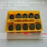 Buy cheap PCBN CBN inserts and cutter, pcbn turning tool Mary@moresuperhard.com from wholesalers