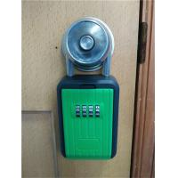 Buy cheap Combination Metal Portable Lock Box For Keys , Pocket Home Key Lock Box from wholesalers