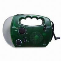 Buy cheap Solar Dynamo Radios with 12V DC Input Jack and Dry Battery Backup from wholesalers