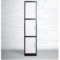 Buy cheap China steel office furniture single 3 tier lockers / 3 door metal closet from wholesalers