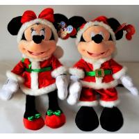 Buy cheap 18inch Fashion Disney Christmas Mickey Mouse and Minnie Mouse Plush Toys from wholesalers