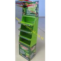 Buy cheap Corrugated Cardboard Floor Display Stand Unit , Store Display Shelf For Pocket Hose from wholesalers