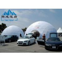 Buy cheap Galvanized Transparent Geodesic Dome Tent House 6M/8M/10M For Trade Show from wholesalers