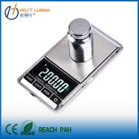 Buy cheap Mini 200g 0.01g Digital Jewelry Scale Weight Electronic Pocket + Carrying Pouch from wholesalers