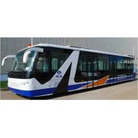 Buy cheap Cummins Engine Airport Passenger Bus Shuttle Bus To The Airport With Aluminum Apron from wholesalers