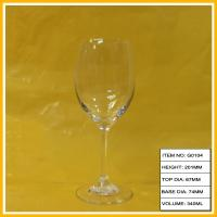 Buy cheap Swarovski Crystal Red Goblet Wine Glass , Decorative Wine Glasses For Party from wholesalers