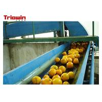 Buy cheap Automation Orange Juice Processing Line , Fruit Juice Manufacturing Plant Orange Extractor from wholesalers