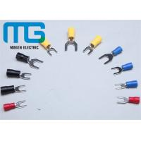 Buy cheap Series SV copper electrical insulated spade wire terminal red blue black yellow TU-JTK from wholesalers