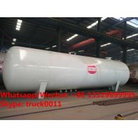 Buy cheap Factory sale cheapest price China made 60m3 bullet type bulk lpg gas storage tank, 30MT propane gas tank for sale from wholesalers