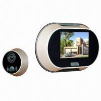 Buy cheap New Peephole Viewer with 3.5-inch LCD Screen product