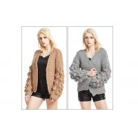 Buy cheap Chunky knit cardigan knitted cardigan woman knitwear Hand knit cardigan Knit Cardigan Sweater from wholesalers