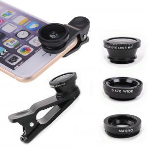 Buy cheap IPhone / Samsung Smartphone Camera Lens Kit Wide Angle Macro Fish Eye product