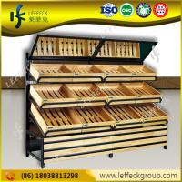Buy cheap Super Markets Fruit Dispaly/ Fruit And Veg Display/ Wood Fruit Stand Vegetable Rack from wholesalers