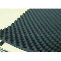 Buy cheap Black High Density Acoustic Foam Panels Egg Crate Soundproof Rubber Foam 20mm from wholesalers