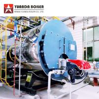 Buy cheap PLC Automatic Control 4000kghr Diesel Oil Fired Steam Boiler for Corrugator Machine from wholesalers