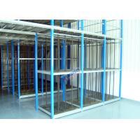 Customized Supply Chain Auto Parts Rack , Durable 4S Warehouse Storage Racks