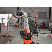 Buy cheap Fuel Tank Industrial Welding Robots in Chennai , Welding Robot Machine Customized Positioner product