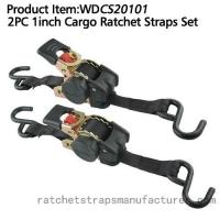 Buy cheap WDCS20101 2PC 1inch Cargo Ratchet Straps from wholesalers