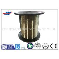 Buy cheap Rubber Hose / Tyre Bead Wire 0.25-0.35mm Gauge With Brass Coated Surface from wholesalers