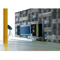 Buy cheap Vinyl Coated PVC Waterproof Wallpaper Korea Style Moisture Proof With 0.53*10m Roll Size product