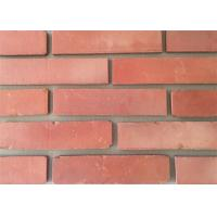 Buy cheap Clay Thin Veneer Brick Turned Color Veneer Brick With Smooth Surface Edge Damages Style from Wholesalers
