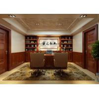 Buy cheap Interior wood and plastic composite decorative wall board wall paneling from wholesalers