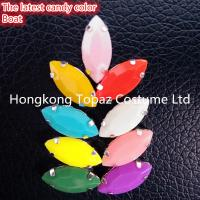 Buy cheap Mixed color 22 pcs/bag new candy color preset mounted crystal rhinestone from wholesalers