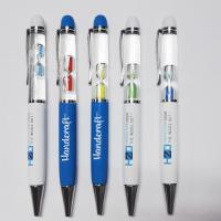 Buy cheap High Quality Professional Custom Logo Promotional 3D Liquid Floating Pen from wholesalers