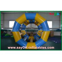 Buy cheap Yellow / Blue Funny Rolling Inflatable Water Toys Inflatable Pool Toys For Water Park from wholesalers