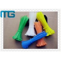 Buy cheap Insulated Nylon Cable Ties Wraps 60mm - 1200mm Reusable Cable Ties For Industry from wholesalers