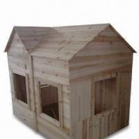 Buy cheap Doll House with Teak Oil Paint, Made of Wooden from wholesalers