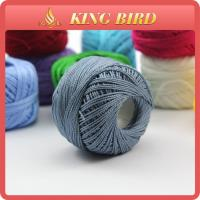 Buy cheap Various Colors 9s / 2  100 Cotton Sewing Thread balls For knitting from wholesalers