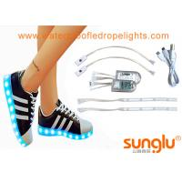 Buy cheap 3528 RGB LED Shoe Light For Sole Footwear Decoration , LED Flashing Shoes from wholesalers