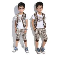 Buy cheap 2014 new style  boy clothing set  designer clothing made in china mix ordr wholesale kids wear from wholesalers
